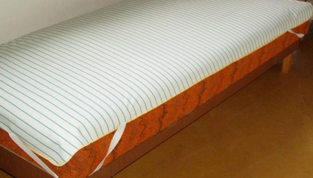 Matracvédő inkontinencia lepedő, 85×90 cm méretű nedvességzáró lepedő gumilepedő helyett.